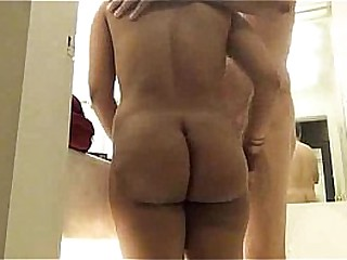 Big Pain in the neck Indian Aunty In Spend a penny With Her Husband Sucking Fucking In Multifarious Positions