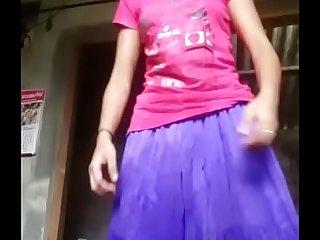Desi girl uniformly all