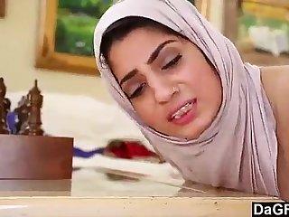 Nadia Ali with White Dick