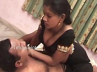 South Indian hot telugu wife coaxing video scene (new)