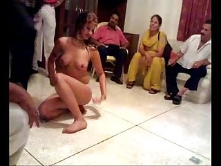 Indian mature couple private mujra