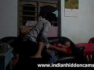 Indian Bhabhi Secretly Fucked By Her Husband Fellow-clansman - IndianHiddenCams.com