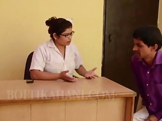 Hot Indian Doctor And Patient Have Hot Coitus