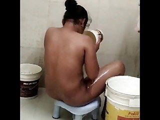 Desi masturbation, youthful rinse in the nude, leaked