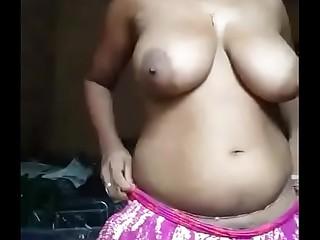 Indian Beautiful Big Natural Tits    Homemade